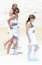 Sistine Rose and Scarlet Rose Stallone Show off their bikini bods in Cabo San Lucas