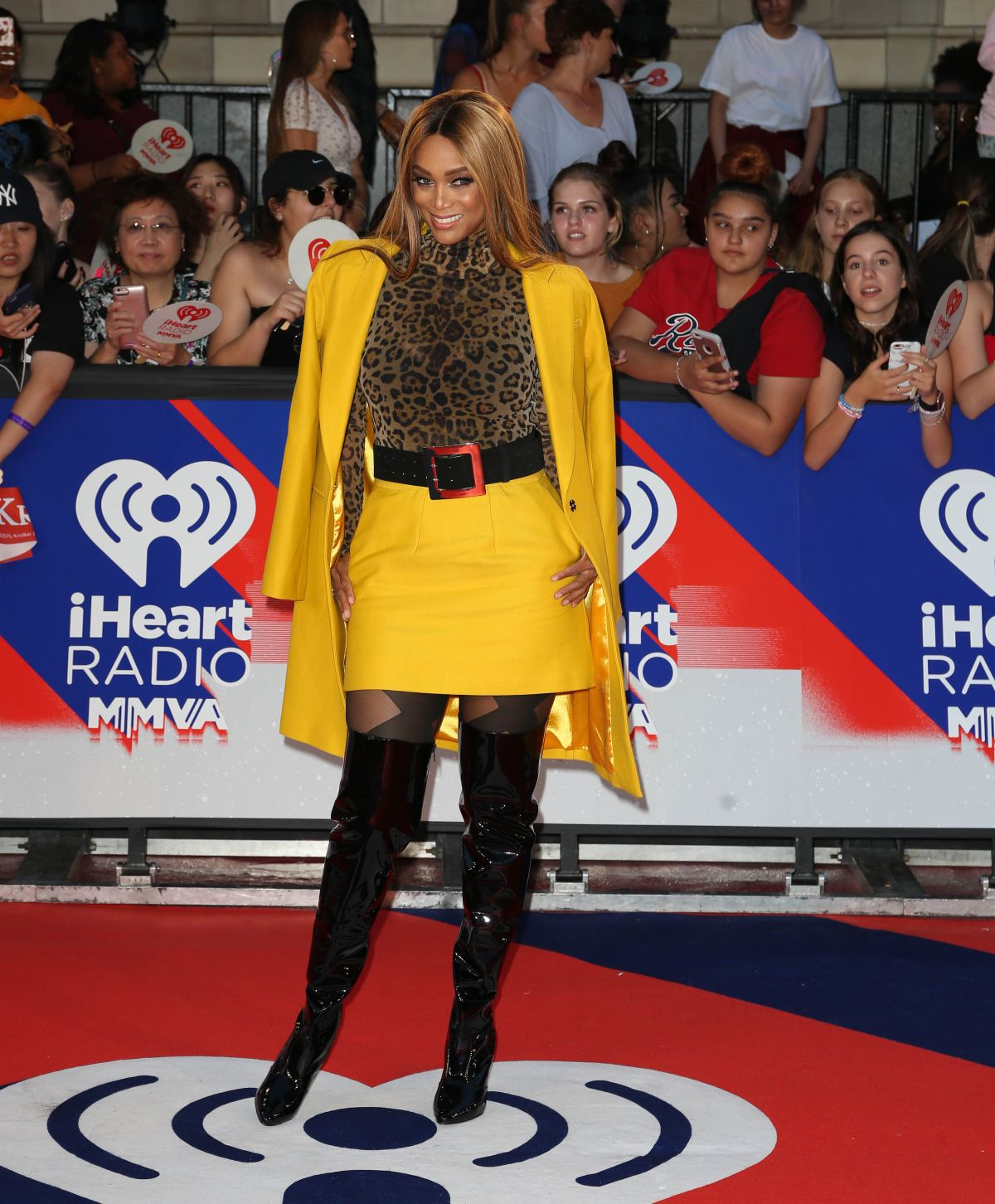 Tyra Banks Music Video: Tyra Banks On Red Carpet Of The MuchMusic Video Awards In