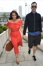 Vicky Pattison At Menagerie Bar and Restaurant in Manchester