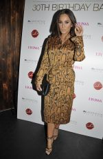 Vicky Pattison At The Thomas Twins 30th Birthday Party At Impossible in Manchester