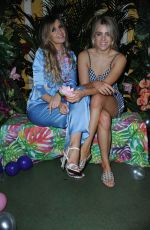Victoria Brown & Olivia Cox At KIKO Milano presents limited edition makeup capsule collection Jelly Jungle at Tropicana Club, London