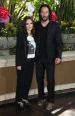 Winona Ryder and Keanu Reeves At Destination Wedding Photo Call at Four Seasons Hotel in Beverly Hills
