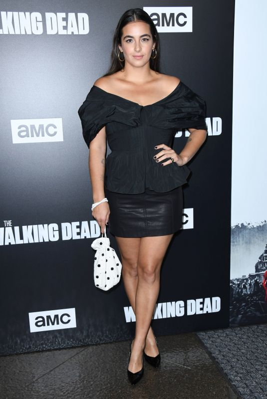 Alanna Masterson At The Walking Dead Season 9 Special Screening Event in Los Angeles