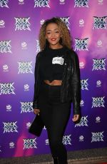 Alexandra Mardell At Rock Of Ages Press Night At Opera House Manchester