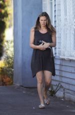 Alicia Silverstone Leaving Mind Body Acupuncture in Hollywood