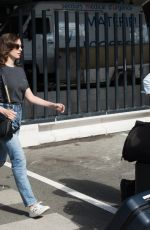 Alison Brie and Dave Franco arrive in Paris in time for Paris Fashion Week