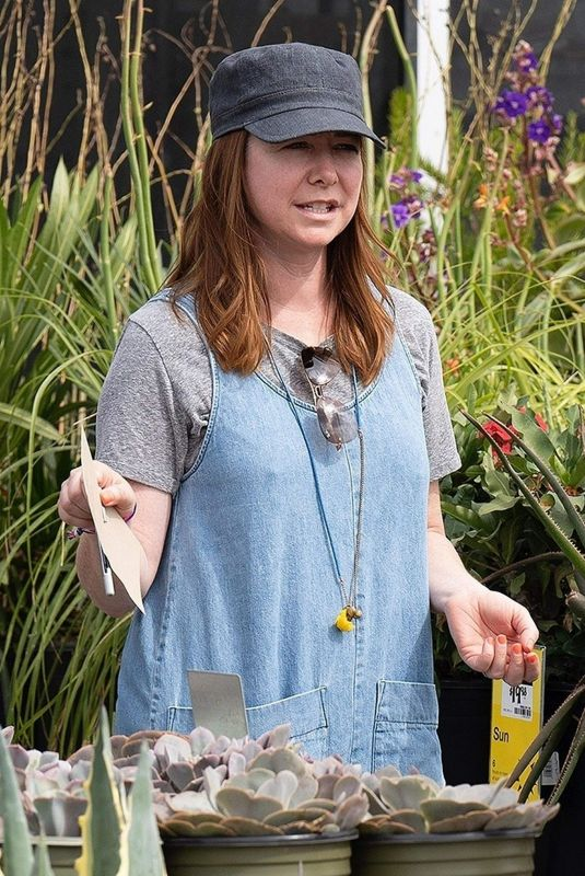 Alyson Hannigan Shopping out in Los Angeles
