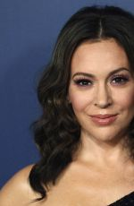 Alyssa Milano At Showtime Emmy Eve Nominees Celebration in Los Angeles