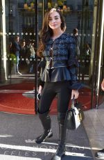 Amy Jackson At the Royal Monceau hotel in Paris