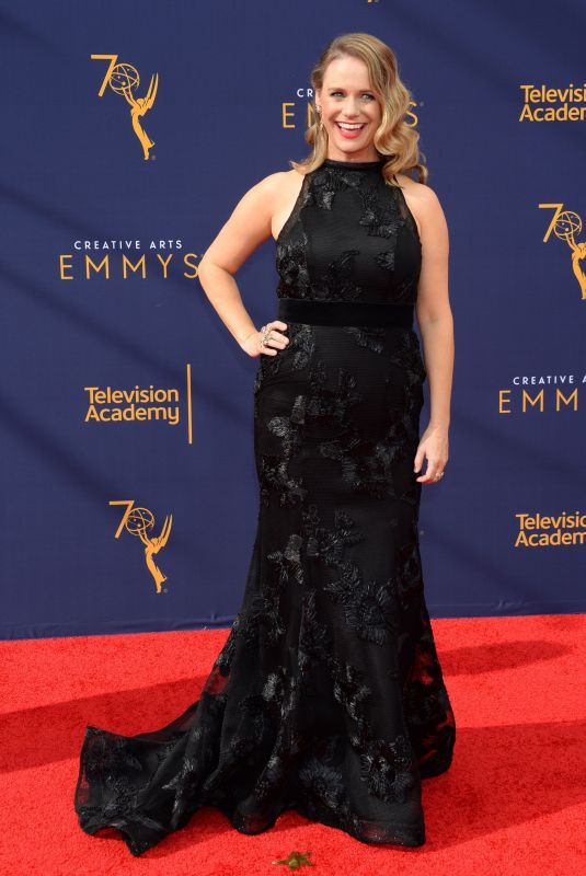 Andrea Barber At 70th Primetime Creative Arts Emmy Awards in Los Angeles