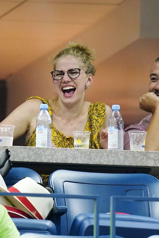 Anna Chlumsky At 2018 US Open