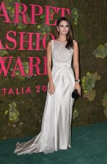 Anna Safroncik At Green Carpet Fashion Awards Italia, Spring Summer 2019, Milan Fashion Week, Italy