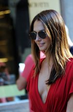 Anna Safroncik Out and about, Milan Fashion Week, Italy