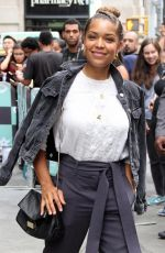 Antonia Thomas At the AOLBuild Series in New York City