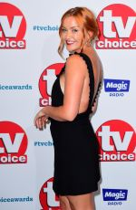 Arielle Free At The TV Choice Awards, Dorchester Hotel, London, UK