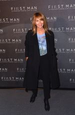 Axelle Laffont Attending the premiere of First Man in Paris, France