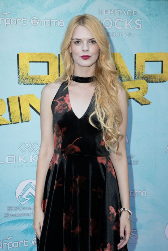 Ayvianna Snow At Dead Ringer Premiere at Prince Charles Cinema, Leicester Square in London, UK