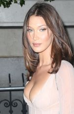 Bella Hadid Arriving at the Harpers Bazaar Icons 2018 party in New York City