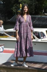 Bianca Balti Arriving at the 75th Venice Film Festival