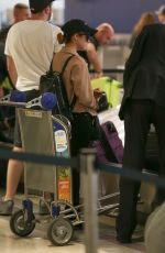 Brittany Snow At LAX airport