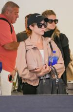 Brittany Snow Spotted at LAX Airport
