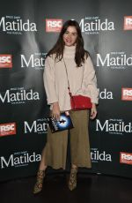 Brooke Vincent & Ellie Leech At Press night for Matilda at The Palace Theatre in Manchester