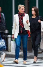 Cameron Diaz Out shopping with a friend in New York City