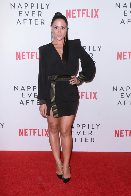 Camille Guaty At Nappily Ever After Special Screening at the Harmony Gold Theater, Los Angeles