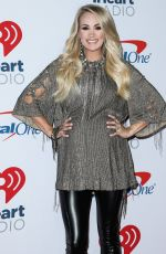 Carrie Underwood At 2018 iHeartRadio Music Festival at T-Mobile Arena in Las Vegas