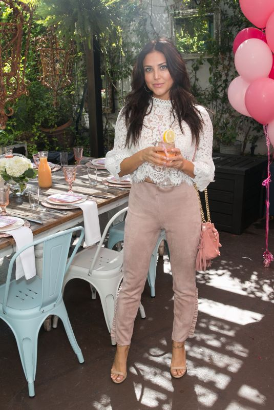Cassie Scerbo At Burn Cook Book Boozy Brunch launch at Sofitel Los Angeles