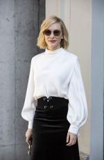 Cate Blanchett At Armani fashion show during MFW Spring/Summer 2019 in Milan, Italy