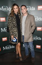 Catherine Tyldelsey At Press night for Matilda at The Palace Theatre in Manchester