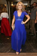 Charlotte Hawkins At The TV Choice Awards, Dorchester Hotel, London, UK