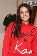 Charlotte Lawrence At Karl Lagerfeld x Revolve launch, Los Angeles