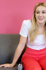 Chloe Lukasiak Visits Famous Birthdays in LA