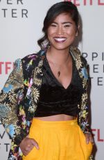 Danielle Lyn At Nappily Ever After Special Screening at the Harmony Gold Theater, Los Angeles