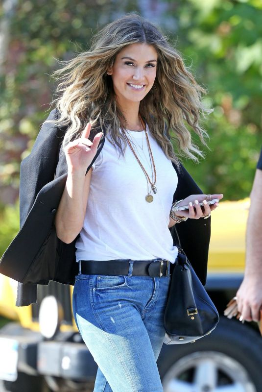 Delta Goodrem Out and about in Los Angeles