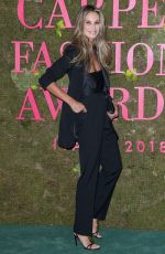 Elle Macpherson Attends the Green Carpet Fashion Awards Italia, Spring Summer 2019 during Milan Fashion Week in Milan
