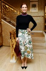 Ellie Kemper At Glamour x Tory Burch Women To Watch Lunch in Los Angeles