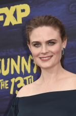 Emily Deschanel At FXX
