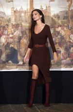 Emily Ratajkowski Appears as special guest on Italian TV Show with host Alessandro Cattelan in Milan
