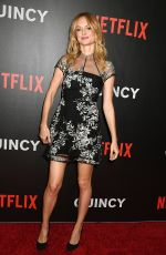 "Heather Graham At Netflix movie ""Quincy"" New York Premiere"