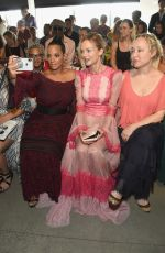 Heather Graham At Tadashi Shoji show at New York Fashion Week
