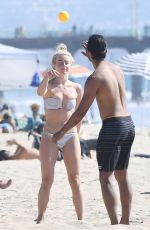 Julianne Hough In a Bikini at a Beach in Newport Beach in California