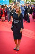 Julie Ferrier At Opening Ceremony of the 44th Deauville American Film Festival