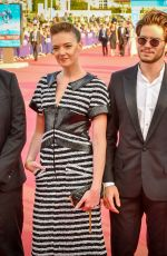 Kate Moran At Opening Ceremony of the 44th Deauville American Film Festival