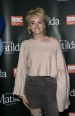 Katie McGlynn At Press night for Matilda at The Palace Theatre in Manchester