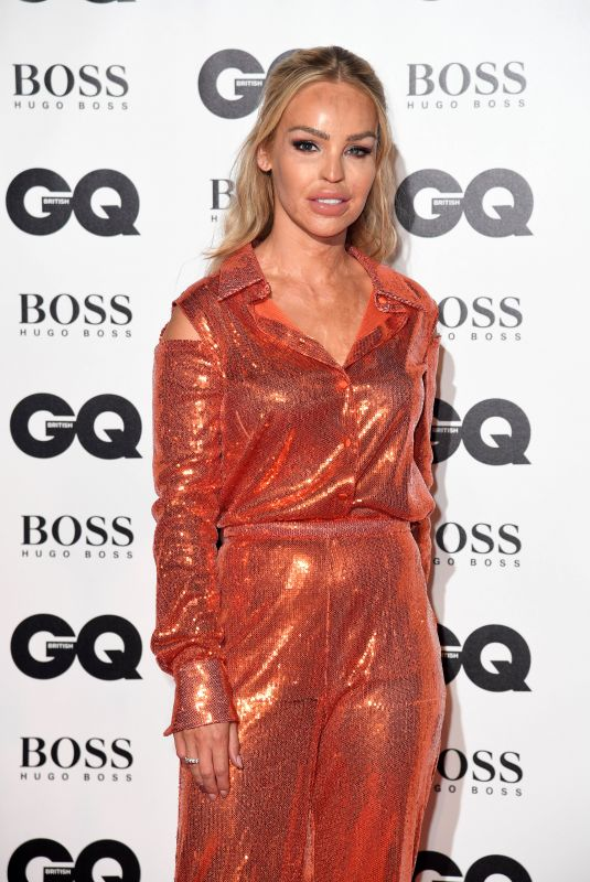 Katie Piper Attending the GQ Men of the Year Awards 2018 at the Tate Modern, London