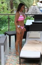 Katie Price In a bikini in Koh Samui
