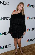 Kelli Garner At NBC and The Cinema Society Party for The Cast of NBC